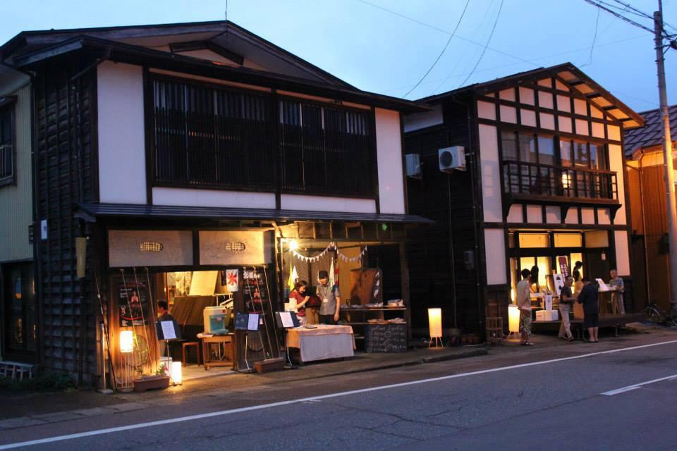 茶もっこイベントの風景 photo by Yamanoie