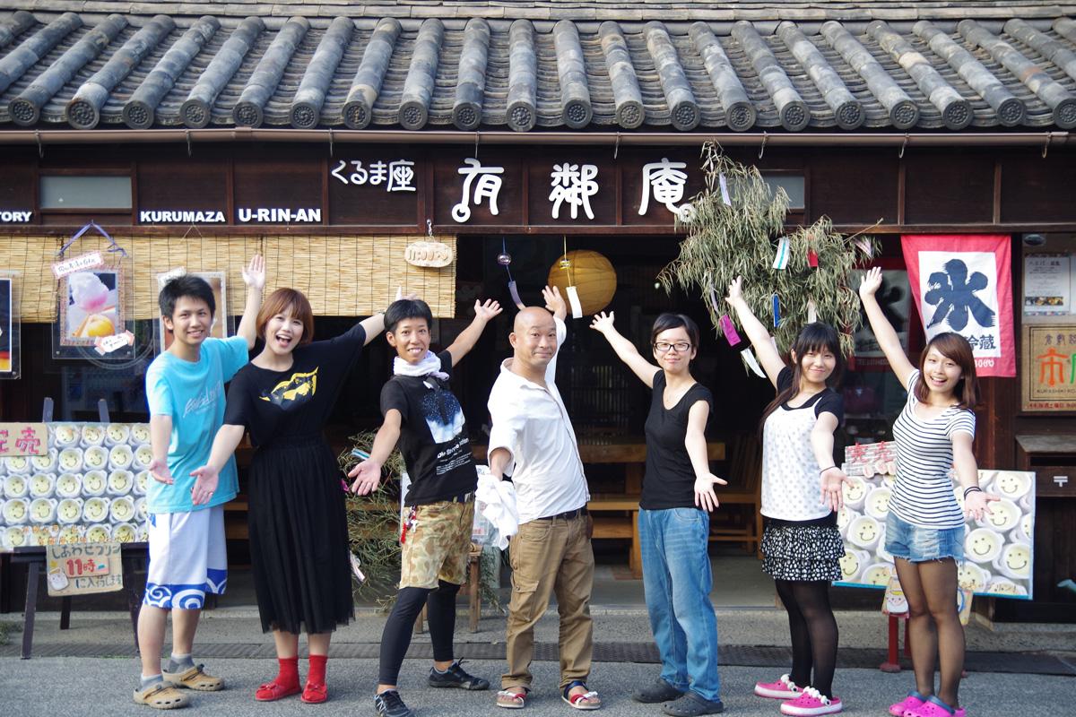 日本人・台湾人スタッフみんなでおもてなし