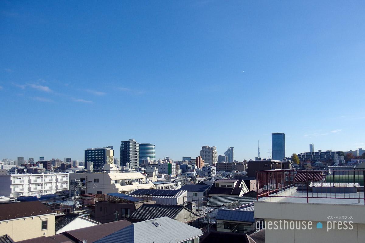 翌12月3日土曜の朝、都内で泊まる体験会は快晴!