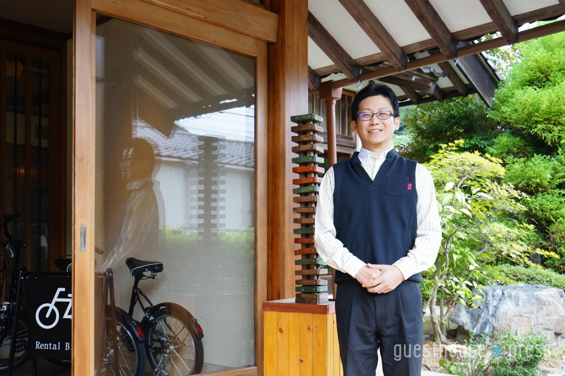 伊藤さんは終始笑顔で応対いただきました。接客のプロフェッショナル!